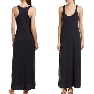 Velvet Graham Spencer Vintage Slub Navy Maxi Dress